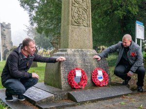 Denby Parish Councillors Remember